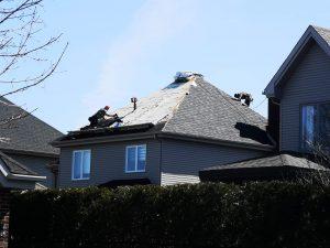 Travaux de rénovation de toiture à Boucherville