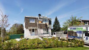 Toiture à Brossard - Couvreur toiture Brossard - Toitures MAB